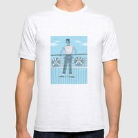Sailor on deck Mens Fitted Tee Ash Grey SMALL