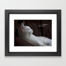 Improve Man Framed Art Print