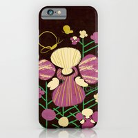 Floral Flower Artprint iPhone 6 Slim Case