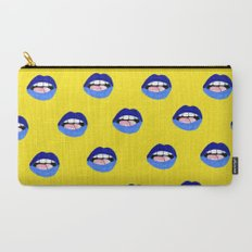 Blue Lips Carry-All Pouch
