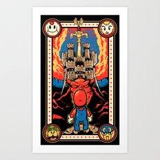 Epic Legend of the Seven Stars Art Print