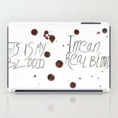 This is my Blood! iPad Case