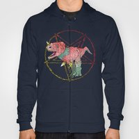 Necro-Dino From Planet Hell Hoody