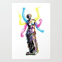 Venus De Milo Is Made Of… Art Print