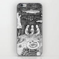 Knitting Cats iPhone & iPod Skin