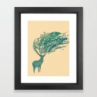 How Good It Feels Framed Art Print