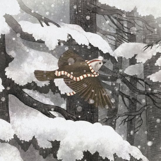 Winter Bird  Art Print