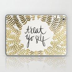 Treat Yo Self – Gold Laptop & iPad Skin