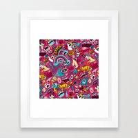 Sad Donut, Jerk  Framed Art Print