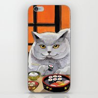 Sushi Cat- Big Fred  iPhone & iPod Skin