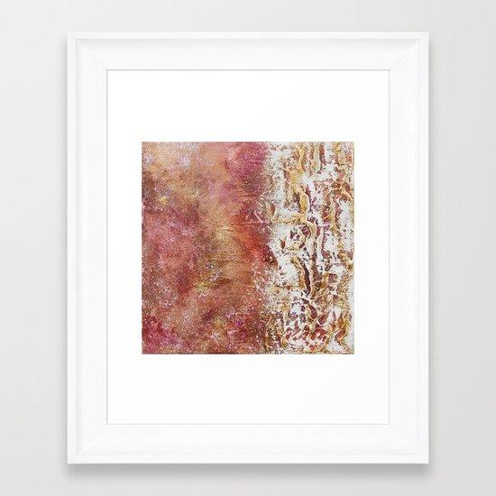 SUMMER COLORS Framed Art Print