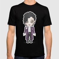 Prince Mens Fitted Tee Black SMALL