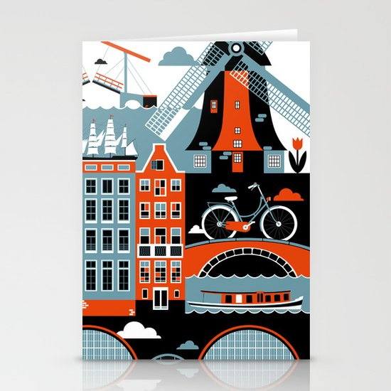 Amsterdam Stationery Card