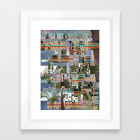 Mumbai Framed Art Print