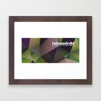 kopp fields Framed Art Print