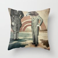 I'll Be Standing On The … Throw Pillow