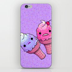 Super Emotional Icecream iPhone & iPod Skin