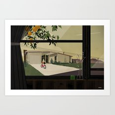 Bikes are for the summer Art Print