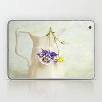 still life with Aquilegia Laptop & iPad Skin