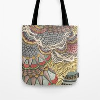 Quilted Forest: The Rabb… Tote Bag