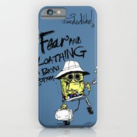 iPhone & iPod Case featuring Fear and Loathing in Bikini Bottom by thunderbloke!