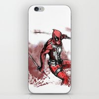 The Merc With The Mouth.… iPhone & iPod Skin