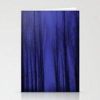 Nightblue Woods Stationery Cards
