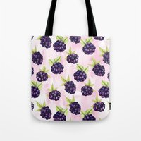 Blackberries Tote Bag