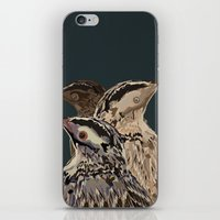 Digital Watercolor Birds iPhone & iPod Skin