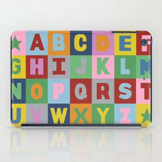 Alphabet iPad Case