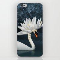 Tribal Swans iPhone & iPod Skin