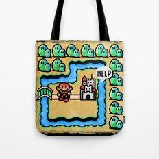 Super Mario 3 Level 1 Tote Bag