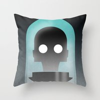 Mr. Freeze Throw Pillow
