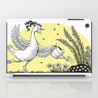 Garden Duck iPad Case