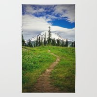 Pathway to the Mountain Rug