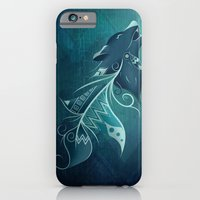 iPhone & iPod Case featuring Wolfeather by LouJah