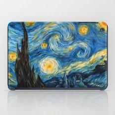A Starry Night at Hogwarts iPad Case