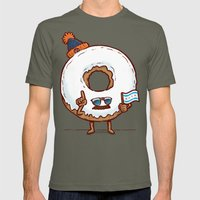 The Chicago Donut Mens Fitted Tee Lieutenant SMALL