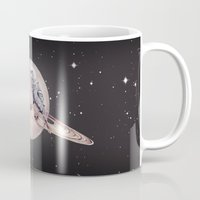 Space Sparrows Mug