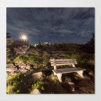 Meteoric Bench Canvas Print