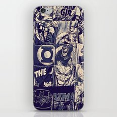 Comic Land iPhone & iPod Skin