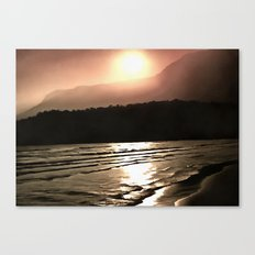 Overwhelming Waves of Sadness Canvas Print