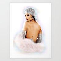 Rihanna CFDA  Art Print