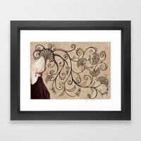 Mind Blown Framed Art Print