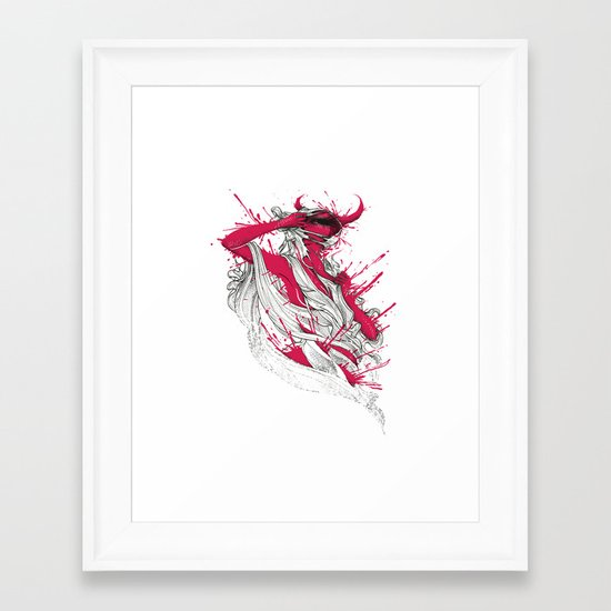 Somebody That I Used To Know Framed Art Print