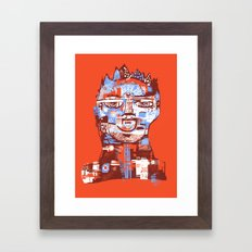 Red King Framed Art Print