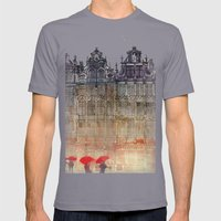Brussels Mens Fitted Tee Slate SMALL