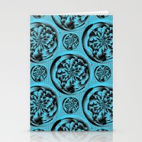 Turquoise Pattern Stationery Cards