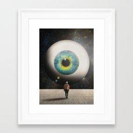 Framed Art Print - All Seeing - Seamless