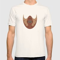 THE SILENCE OF THE LAMBS Mens Fitted Tee Natural SMALL